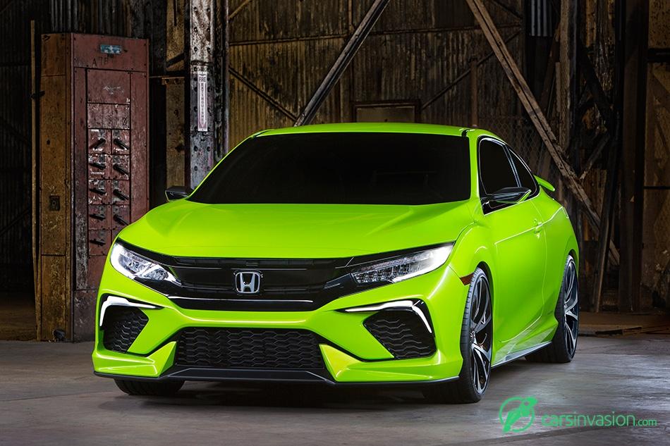 2015 Honda Civic Concept Front Angle