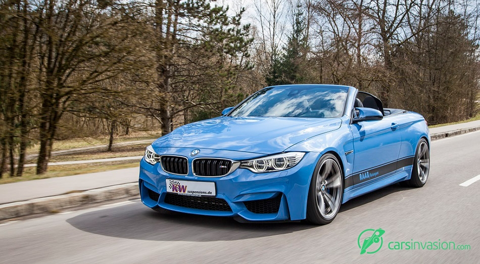 2015 KW BMW M4 Convertible Front Angle