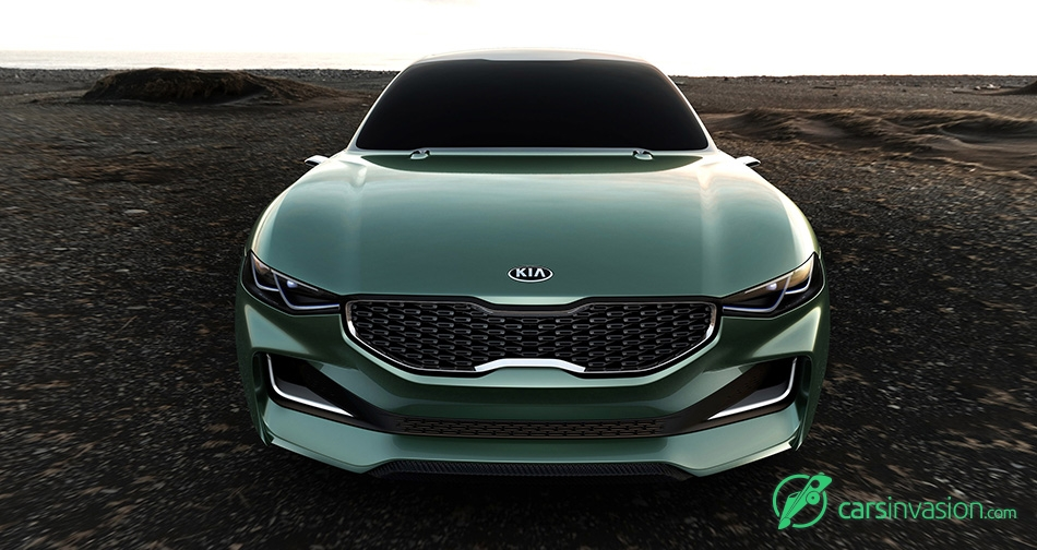2015 Kia Novo Concept Front