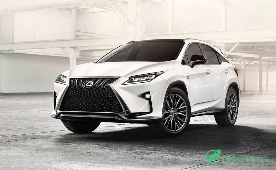 2016 Lexus RX 350 F Sport Front Angle
