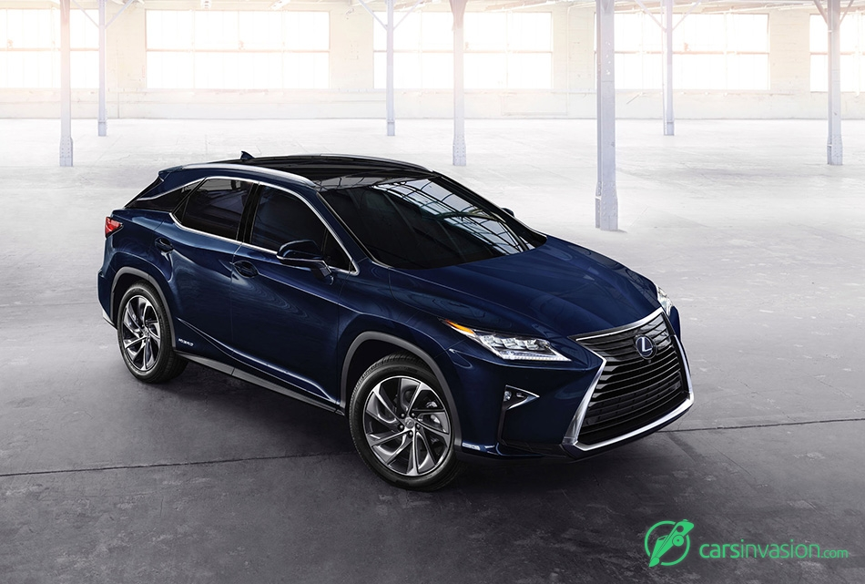 2016 Lexus RX 450h Front Angle