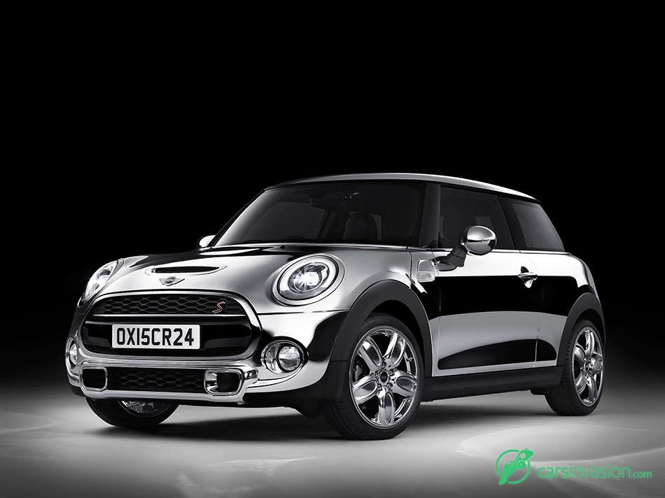 2015 Mini Chrome Line Exterior Deluxe Concept Front Angle