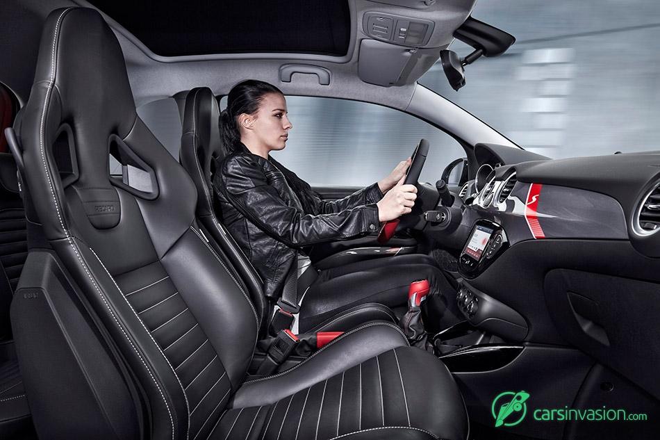 2016 Opel Adam Rocks S Interior