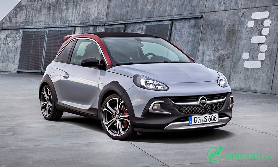 2016 Opel Adam Rocks S Front Angle