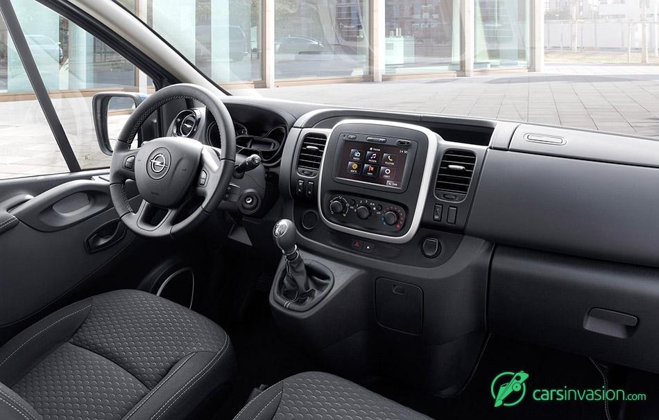 2015 Opel Vivaro Interior