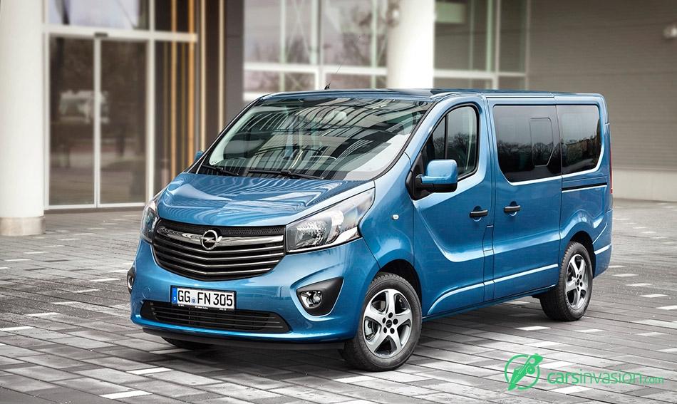 2015 Opel Vivaro Front Angle