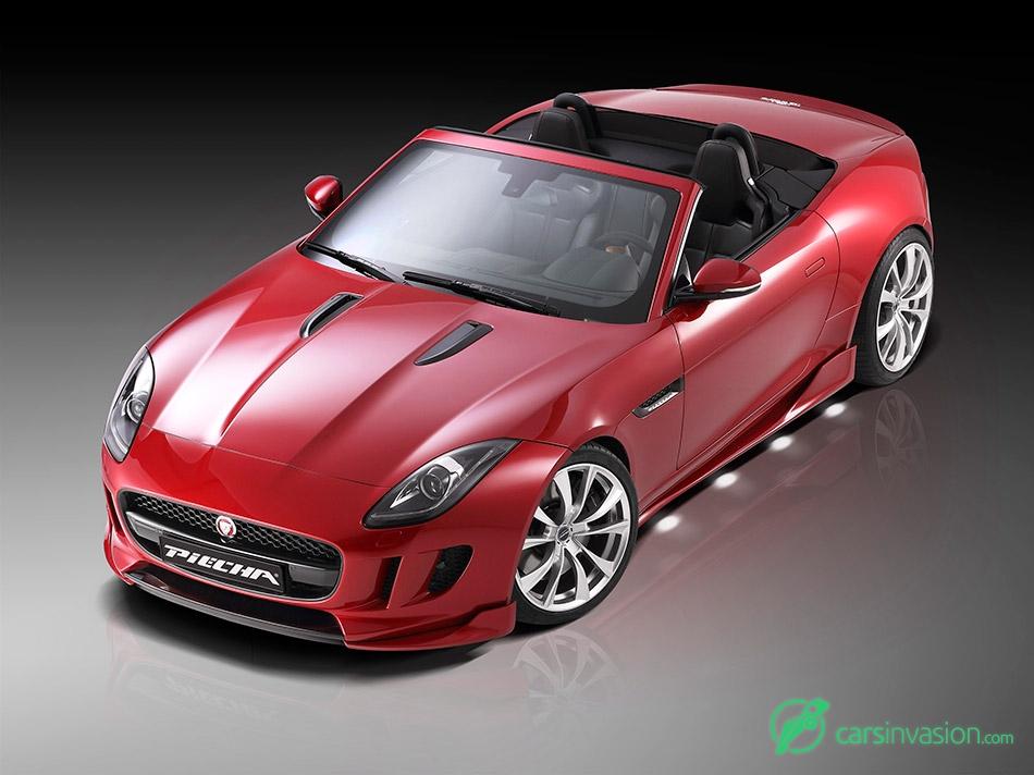 2015 Piecha Jaguar F-Type Roadster Front Angle