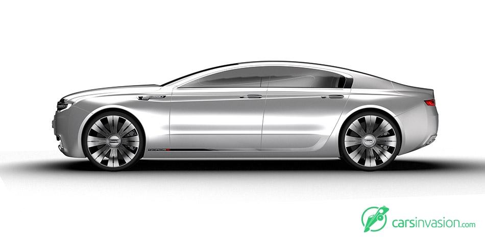 2020 Qoros 9 Sedan Concept Side