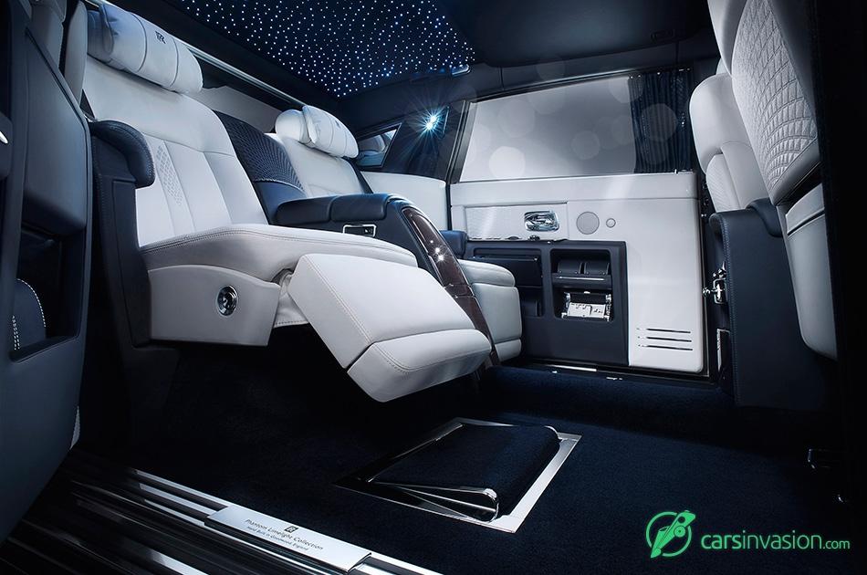 2015 Rolls-Royce Phantom Limelight Interior