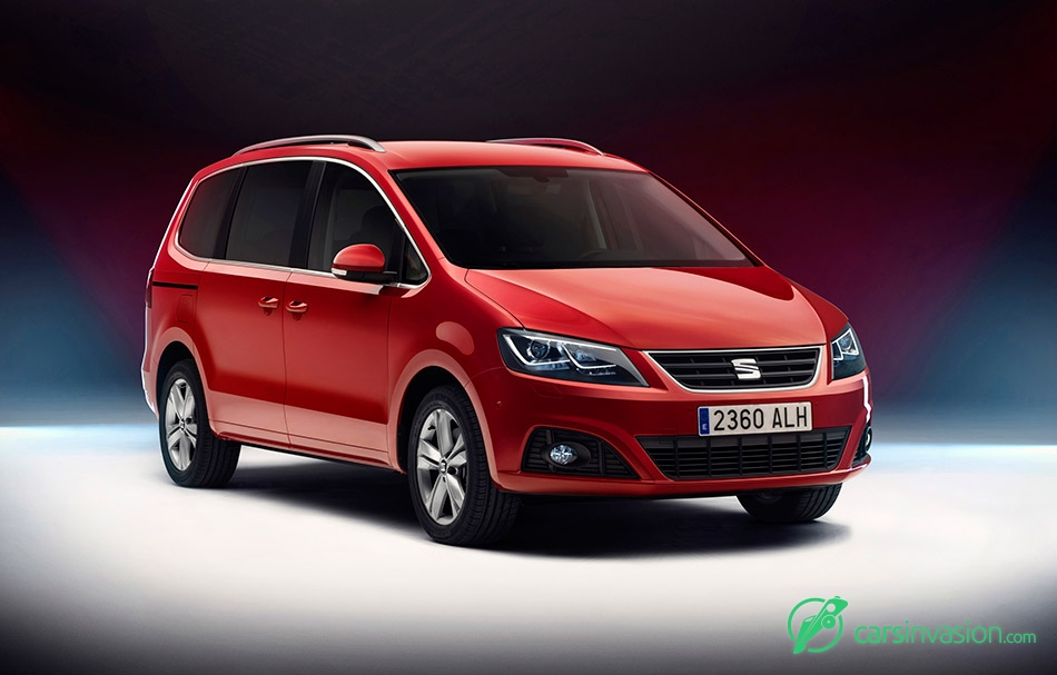2016 Seat Alhambra Front Angle