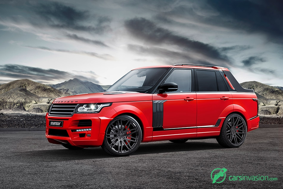2015 Startech Range Rover Pickup Front Angle