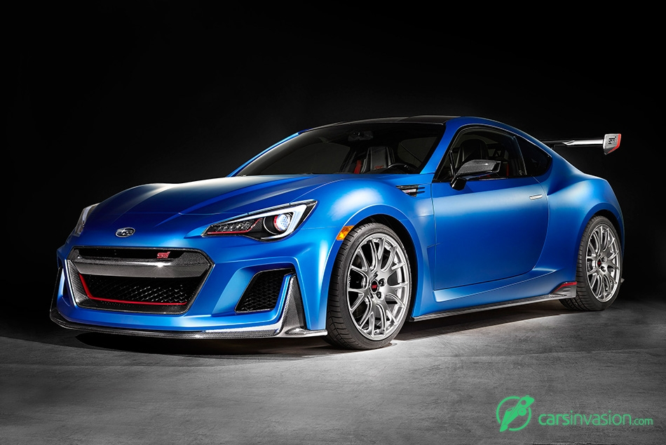 2015 Subaru BRZ STI Performance Concept Front Angle