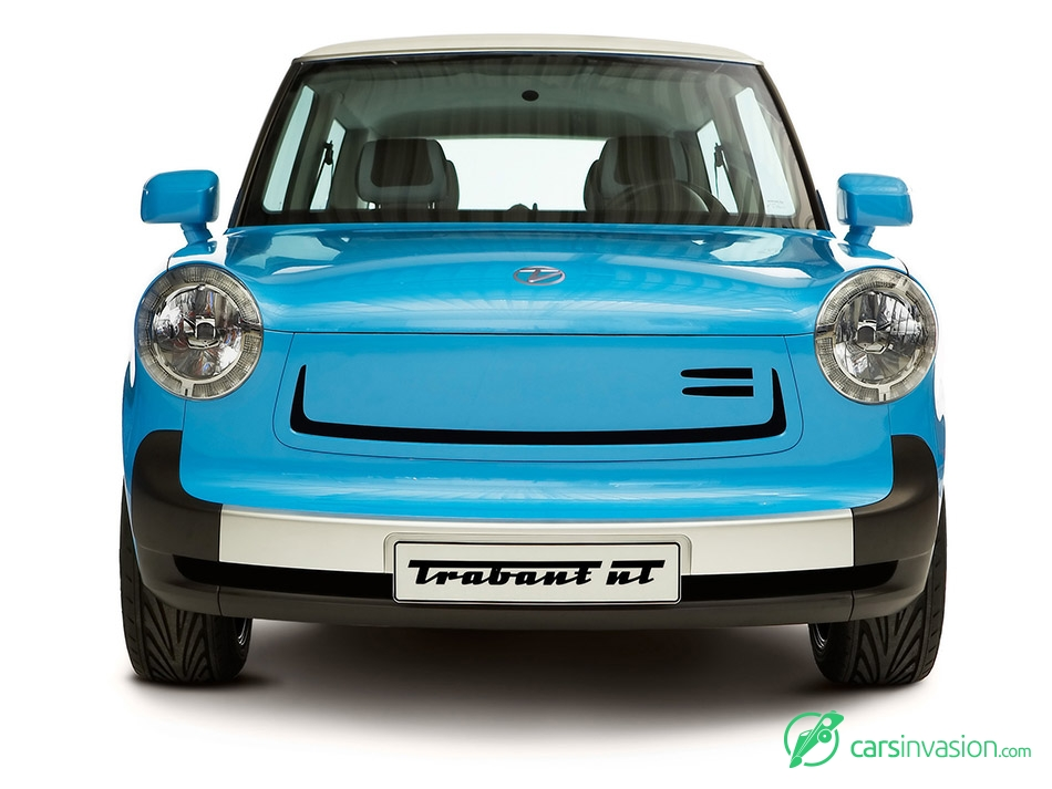 2012 Trabant nT Concept Front Angle