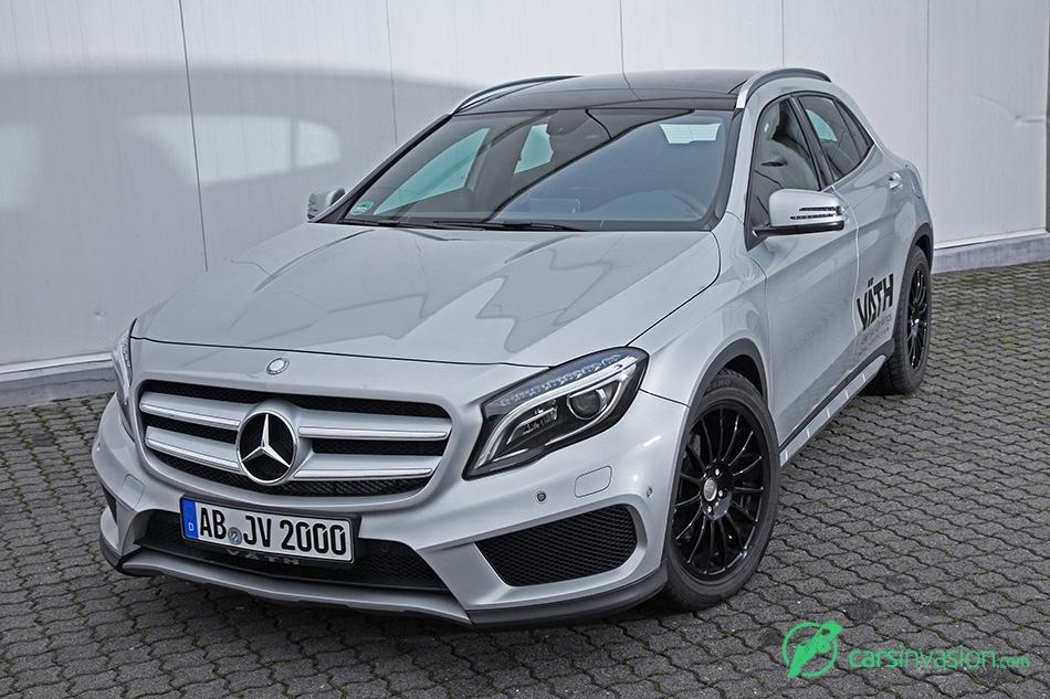 2015 VATH Mercedes-Benz GLA 200 Front Angle