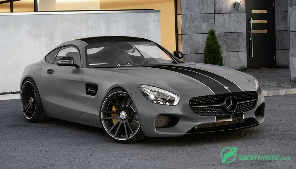 2015 Wheelsandmore Mercedes-AMG GT S Coupe Front Angle