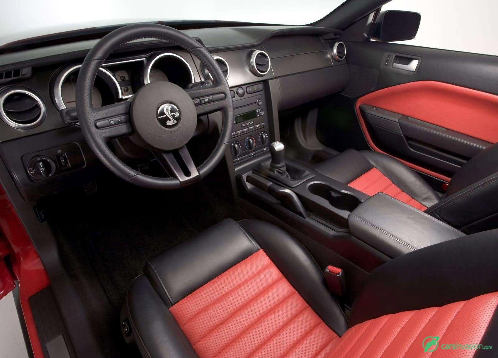 mustang shelby cobra 2005 gt500 ford interior svt 2007 gt concept carsinvasion soec weight saleen