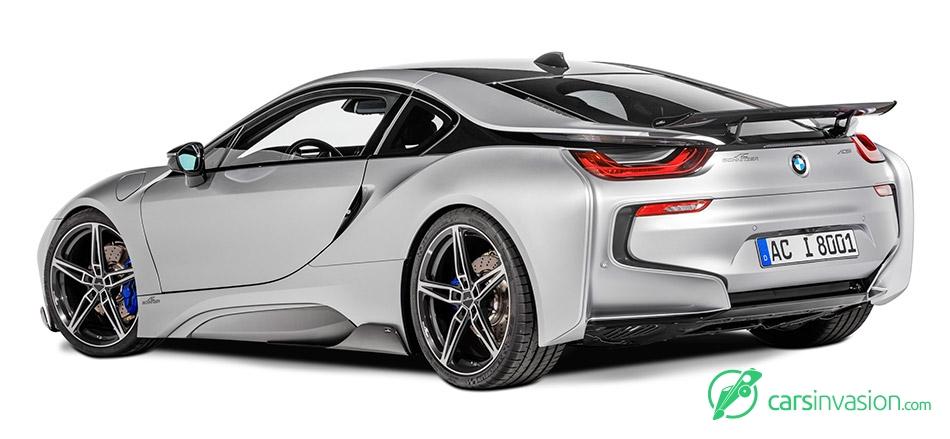 2015 AC Schnitzer BMW i8 Rear Angle