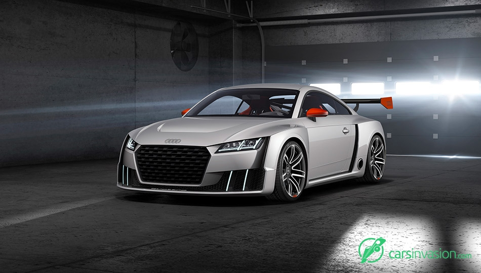 2015 Audi TT Clubsport Turbo Concept Front Angle