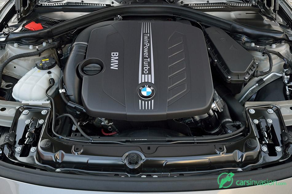 2016 BMW 3-Series TwinPower Turbo six-cylinder diesel engine