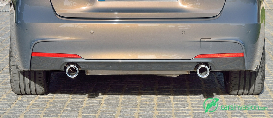 2016 BMW 3-Series exhaust systems