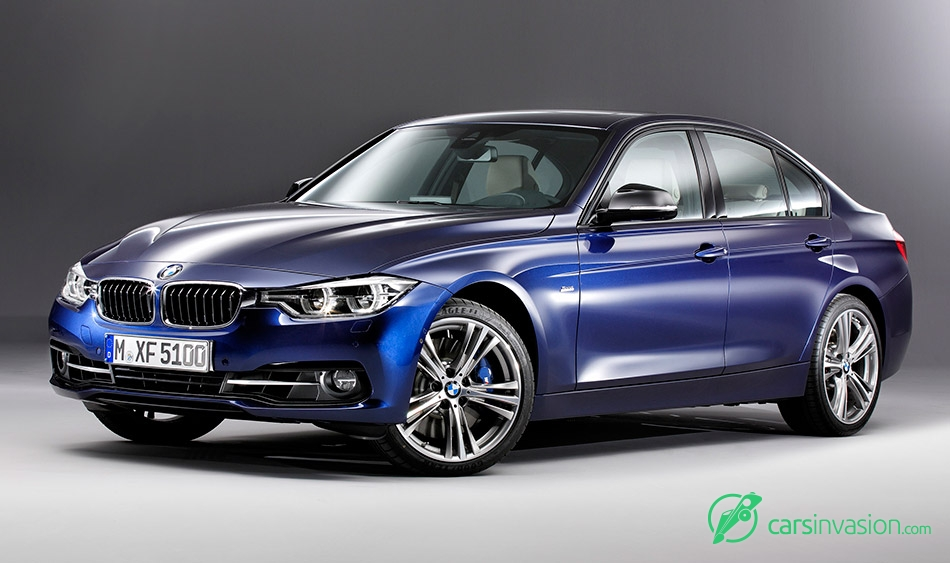 2016 BMW 3-Series Front Angle