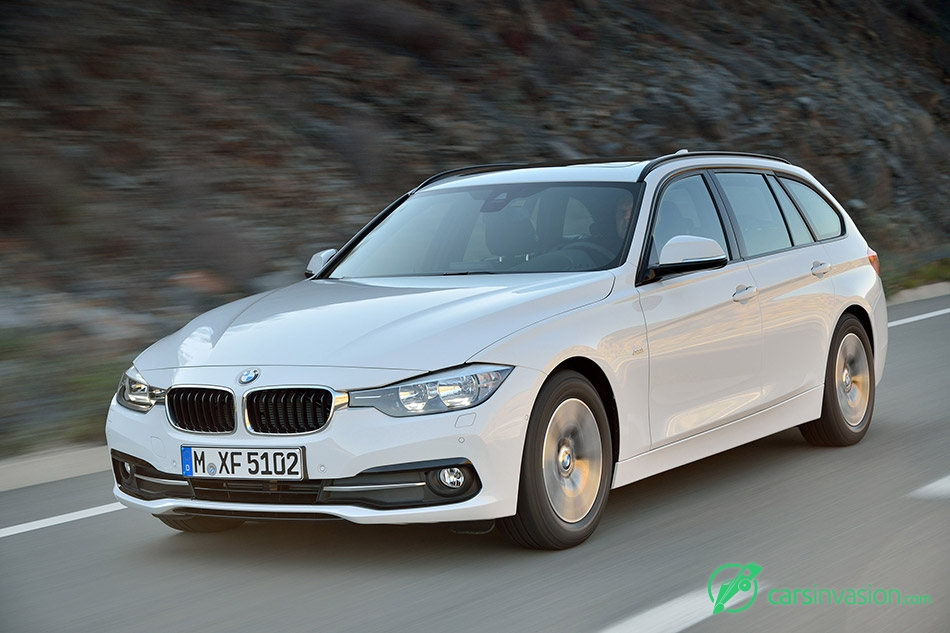 2016 BMW 3-Series Touring Front Angle