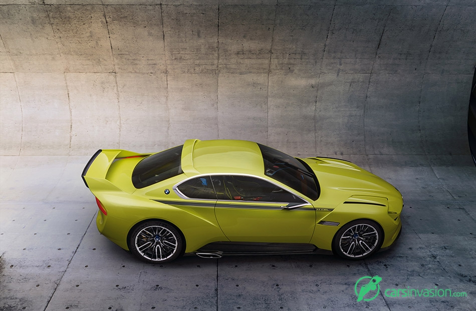 2015 BMW 3.0 CSL Hommage Concept Side