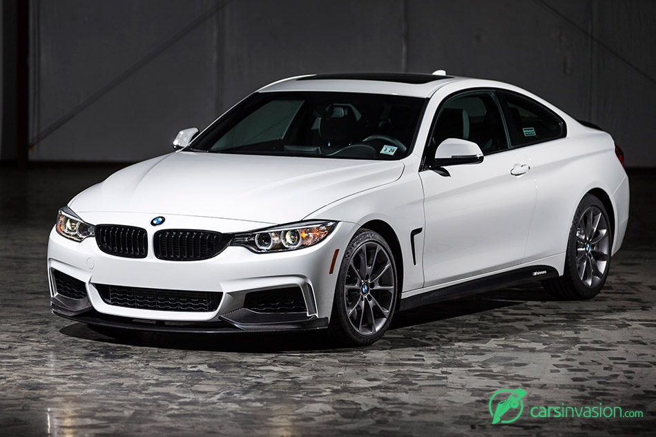 2016 BMW 435i ZHP Coupe Front Angle