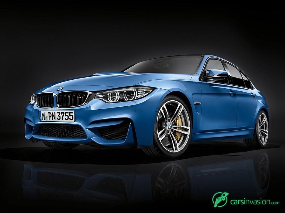 2016 BMW M3 Sedan Front Angle
