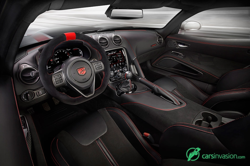 2016 Dodge Viper ACR Interior