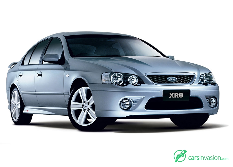 2006 Ford BF MkII Falcon XR8 Front Angle
