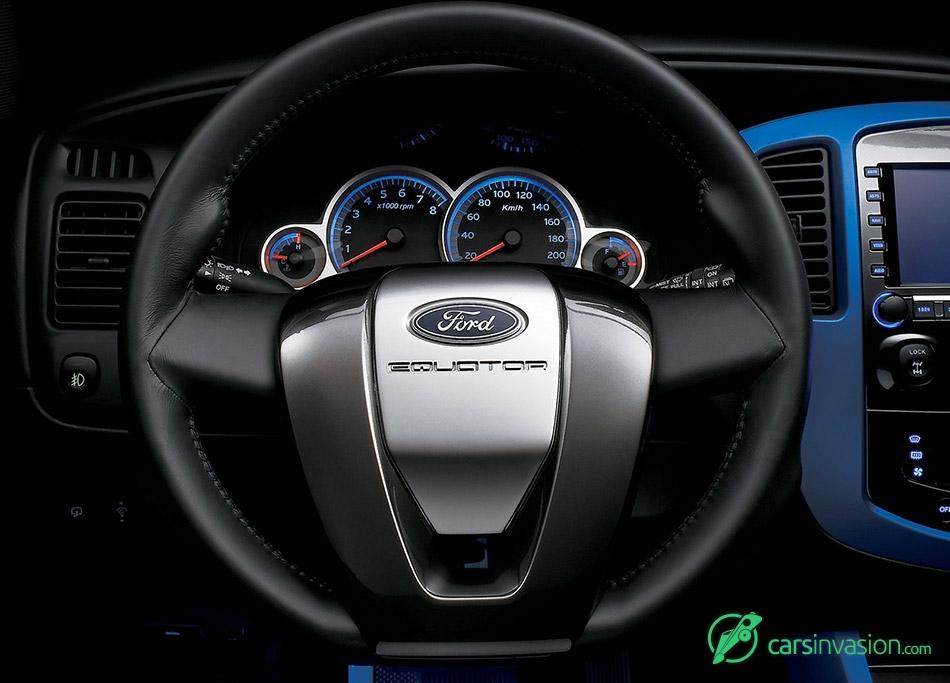 2005 Ford Equator Concept Interior