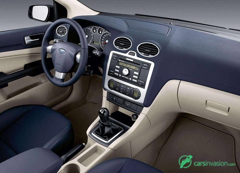 2004 Ford Focus TDCi 5door EU-version Interior