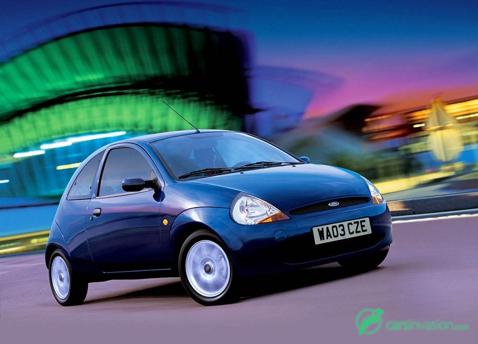 2003 Ford Ka Front Angle