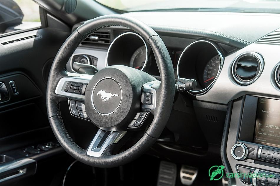 2015 Ford Mustang Convertible EU-Version Interior