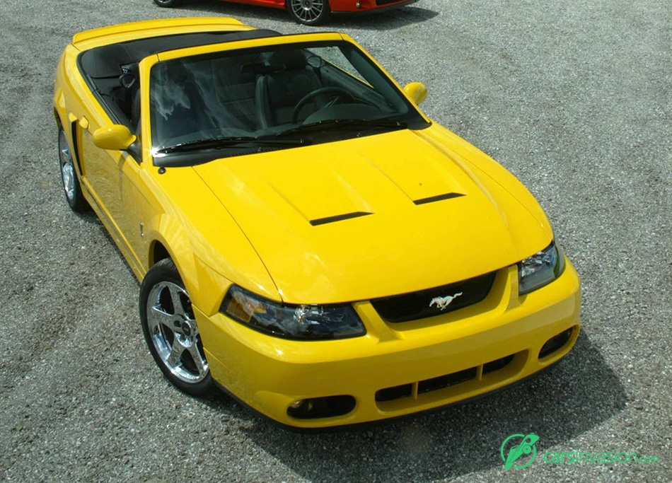 2004 Ford Mustang SVT Cobra Convertible Front Angle