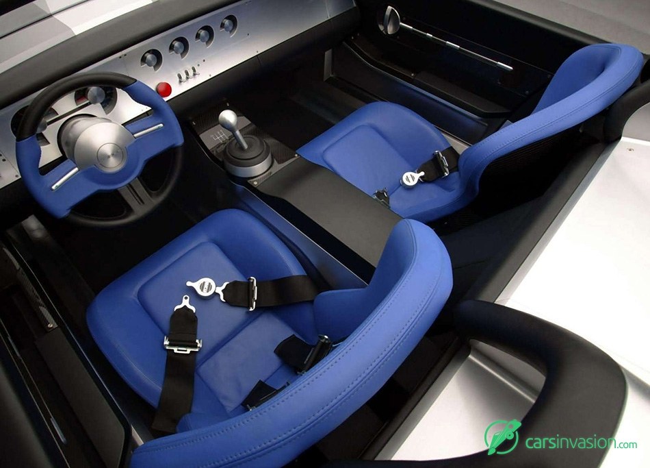 2004 Ford Shelby Cobra Concept Interior