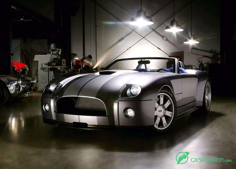 2004 Ford Shelby Cobra Concept Front Angle