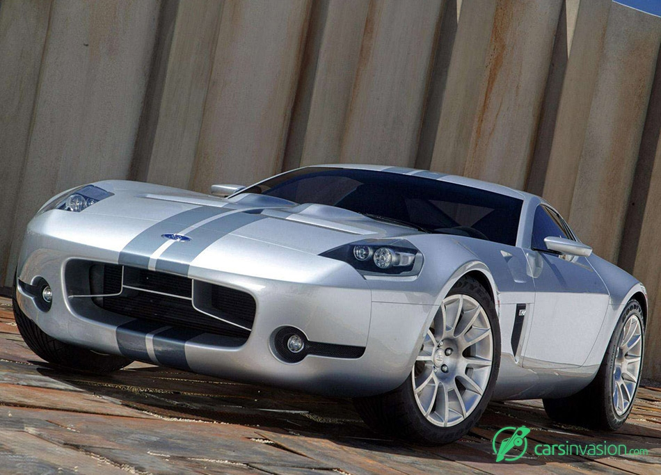 2004 Ford Shelby GR1 Concept Front Angle