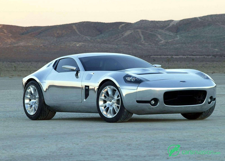 2005 Ford Shelby GR1 Concept Front Angle