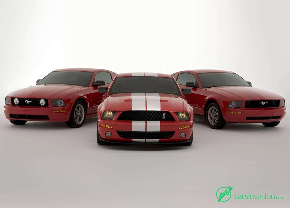 2005 Ford Shelby SVT Cobra GT500 Mustang Show Car Front Angle
