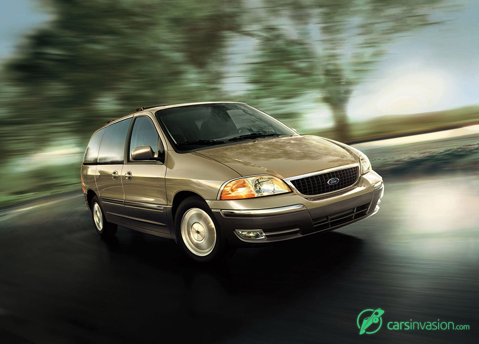 2003 Ford Windstar Front Angle