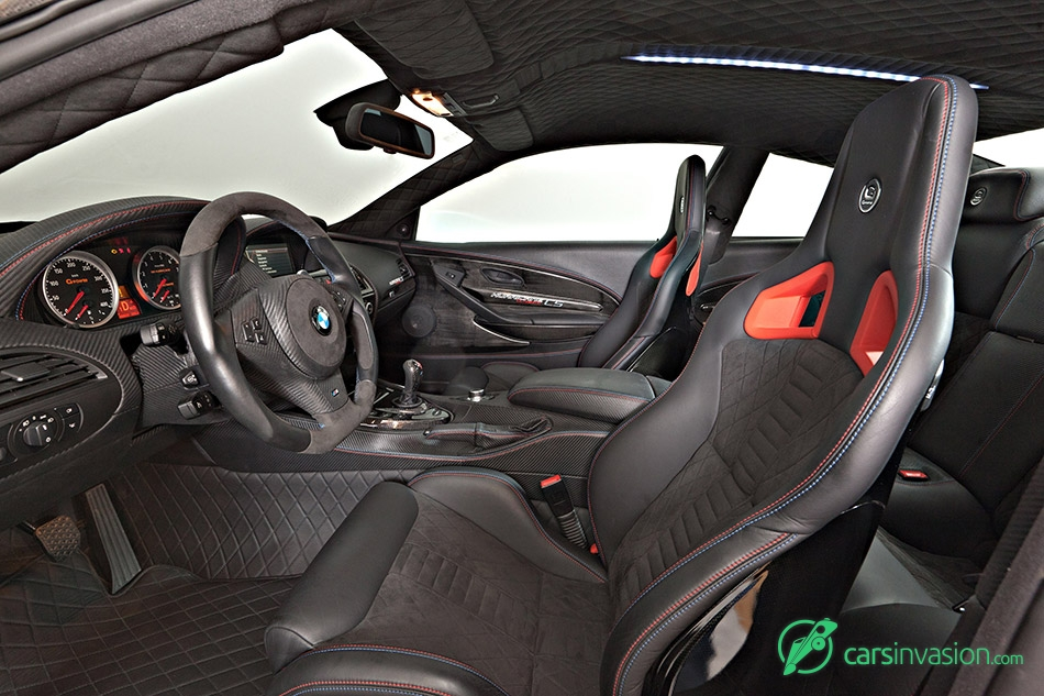 2015 G-Power BMW G6M V10 Hurricane CS Ultimate Interior