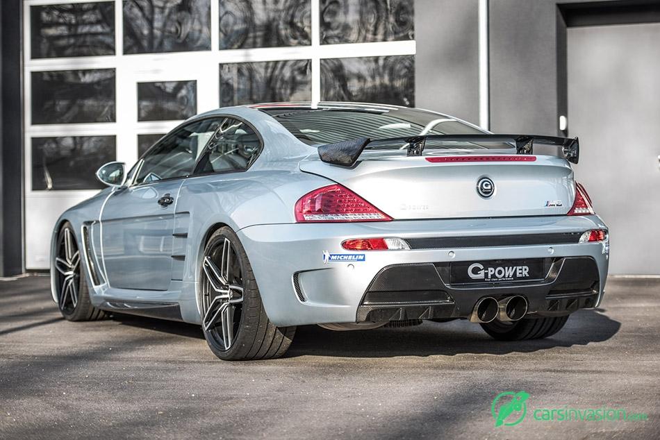 2015 G-Power BMW G6M V10 Hurricane CS Ultimate Rear Angle