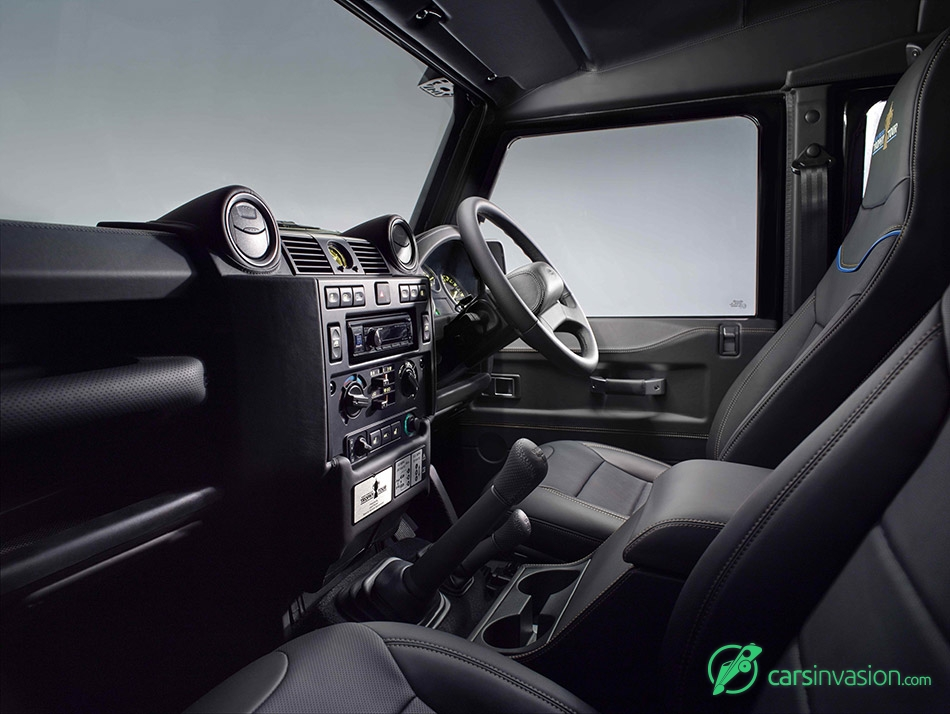 2015 Land Rover Defender Rugby World Cup Interior