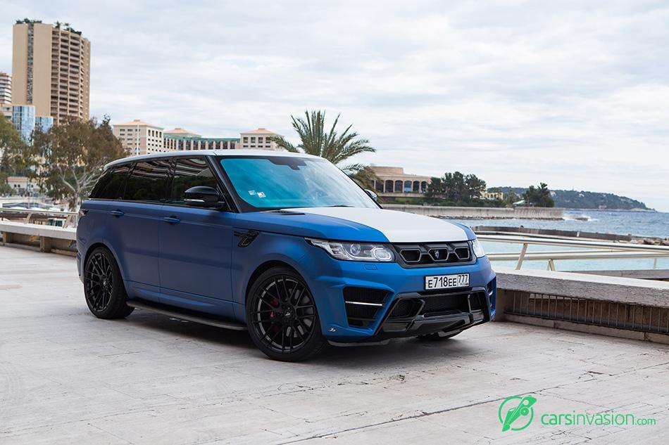 2015 Larte Range Rover Sport Winner Front Angle