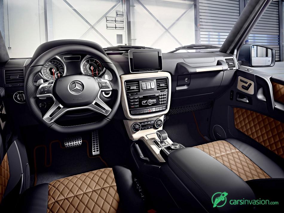 2015 Mercedes-Benz G-Class Interior