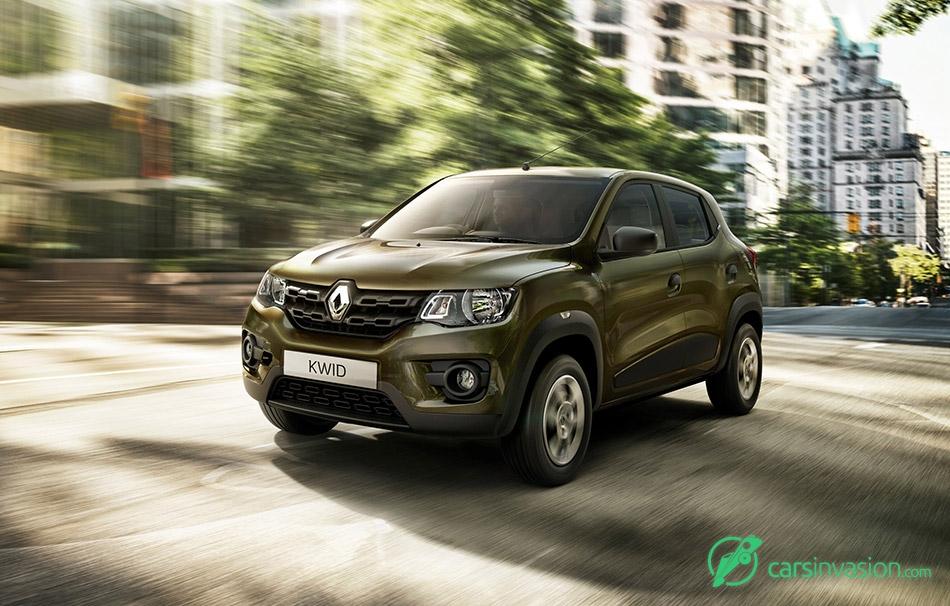 2015 Renault KWID Front Angle