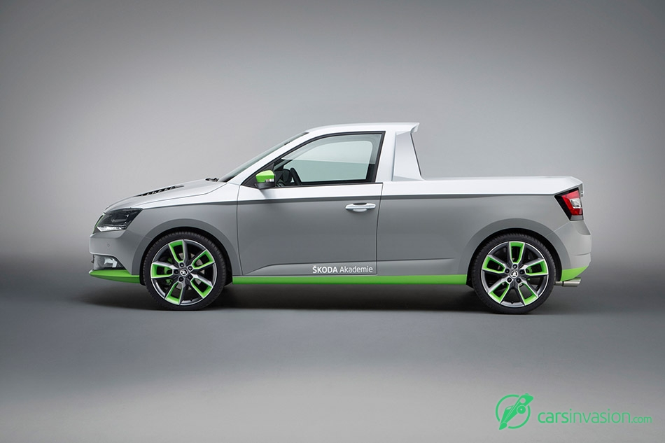 2015 Skoda FUNstar Concept Left Side