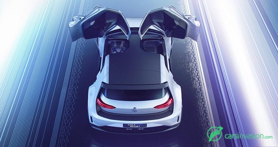 2015 Volkswagen Golf GTE Sport Concept Doors